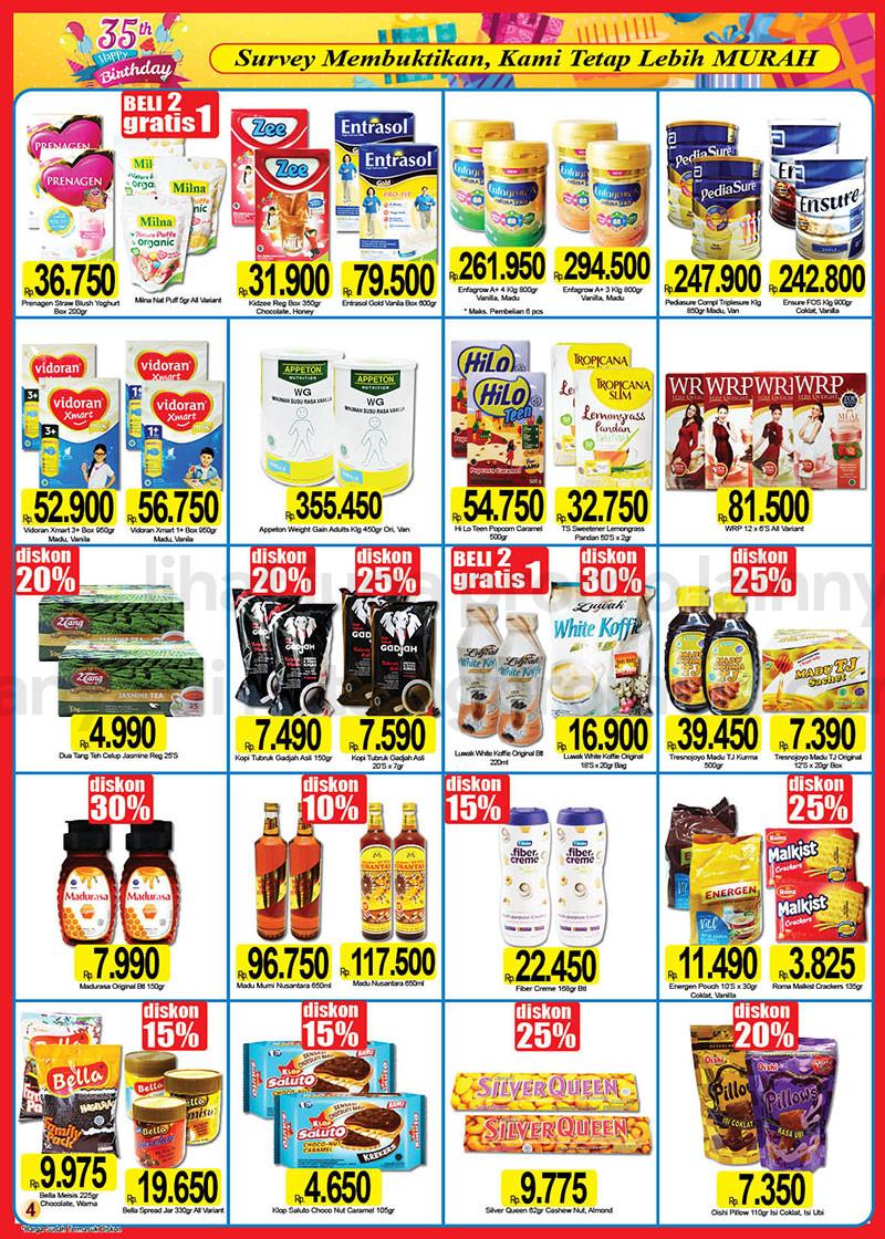 Katalog Promo NAGA SWALAYAN Terbaru Periode 25 Juli - 10 Agustus 2021