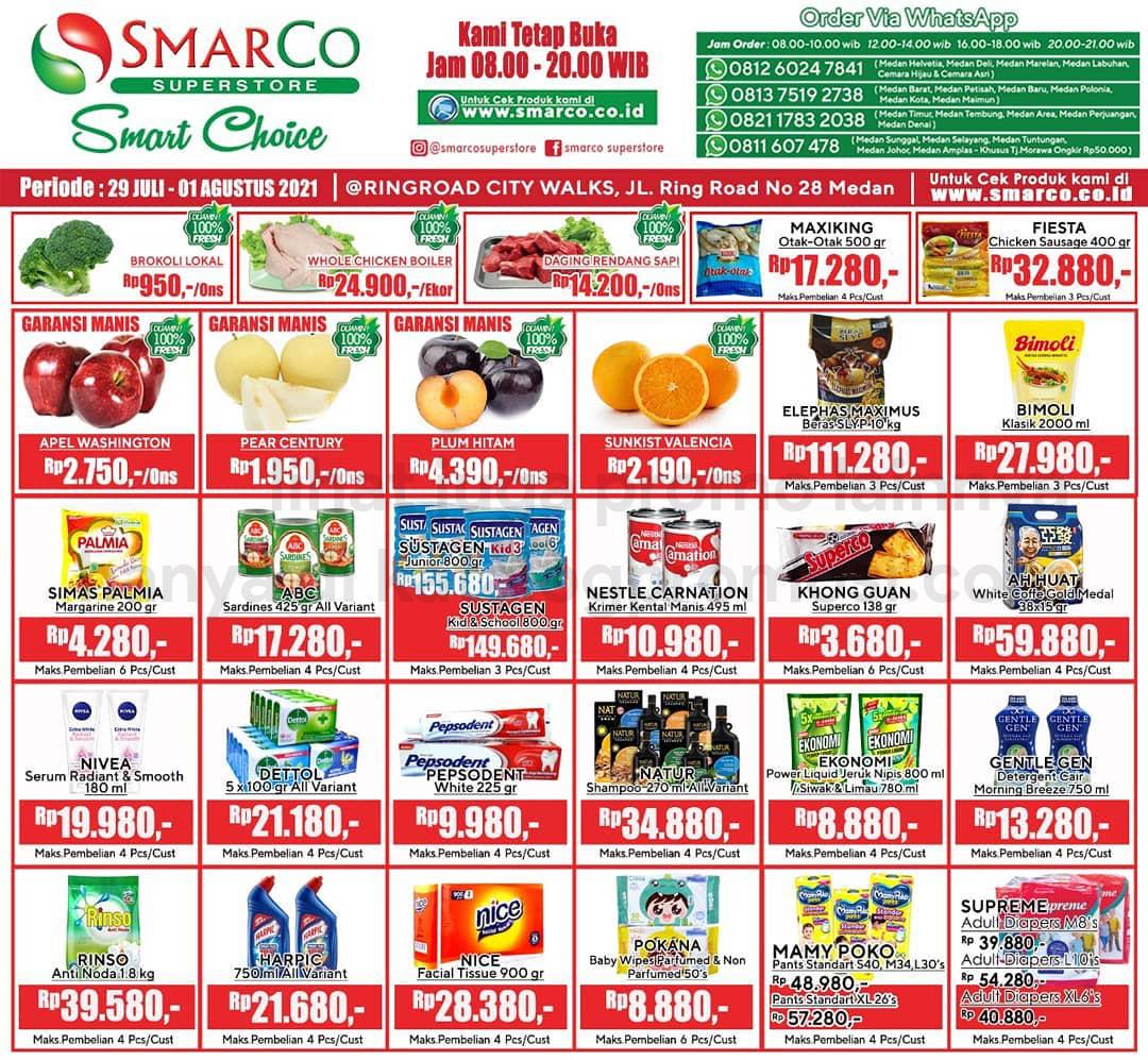 Promo SmarCo Superstore Katalog Weekend JSM periode 29 Juli - 01 Agustus 2021