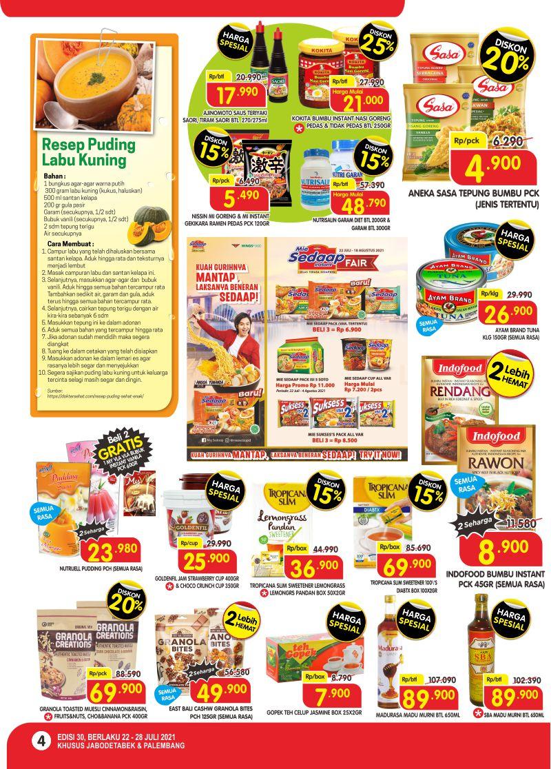 Promo Superindo Katalog Belanja Mingguan periode 22-28 Juli 2021