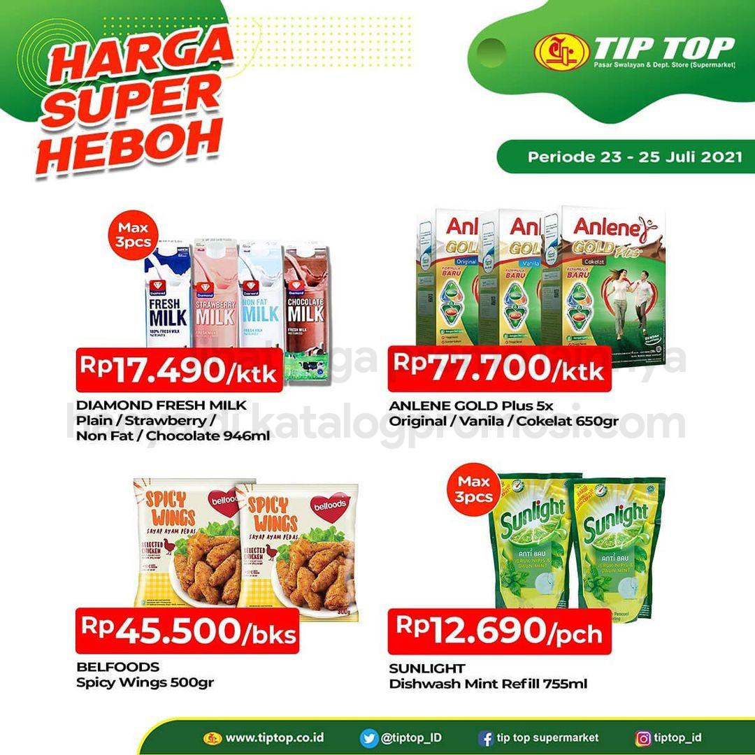 Katalog TIP TOP Pasar Swalayan Promo Weekend periode 23-25 Juli 2021