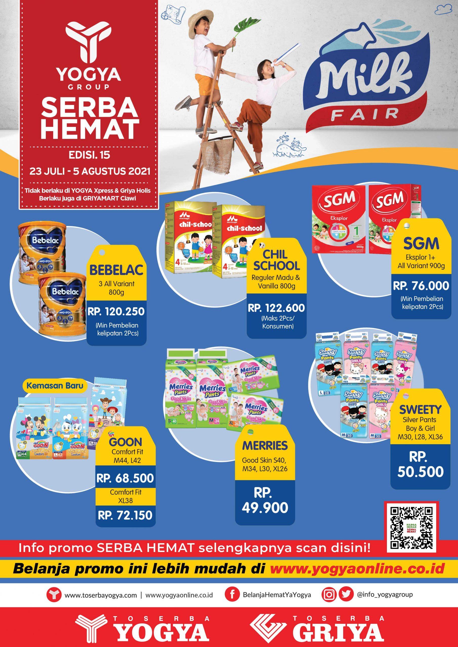 Katalog Toserba Yogya Promo SERBA HEMAT periode 23 Juli - 05 Agustus 2021