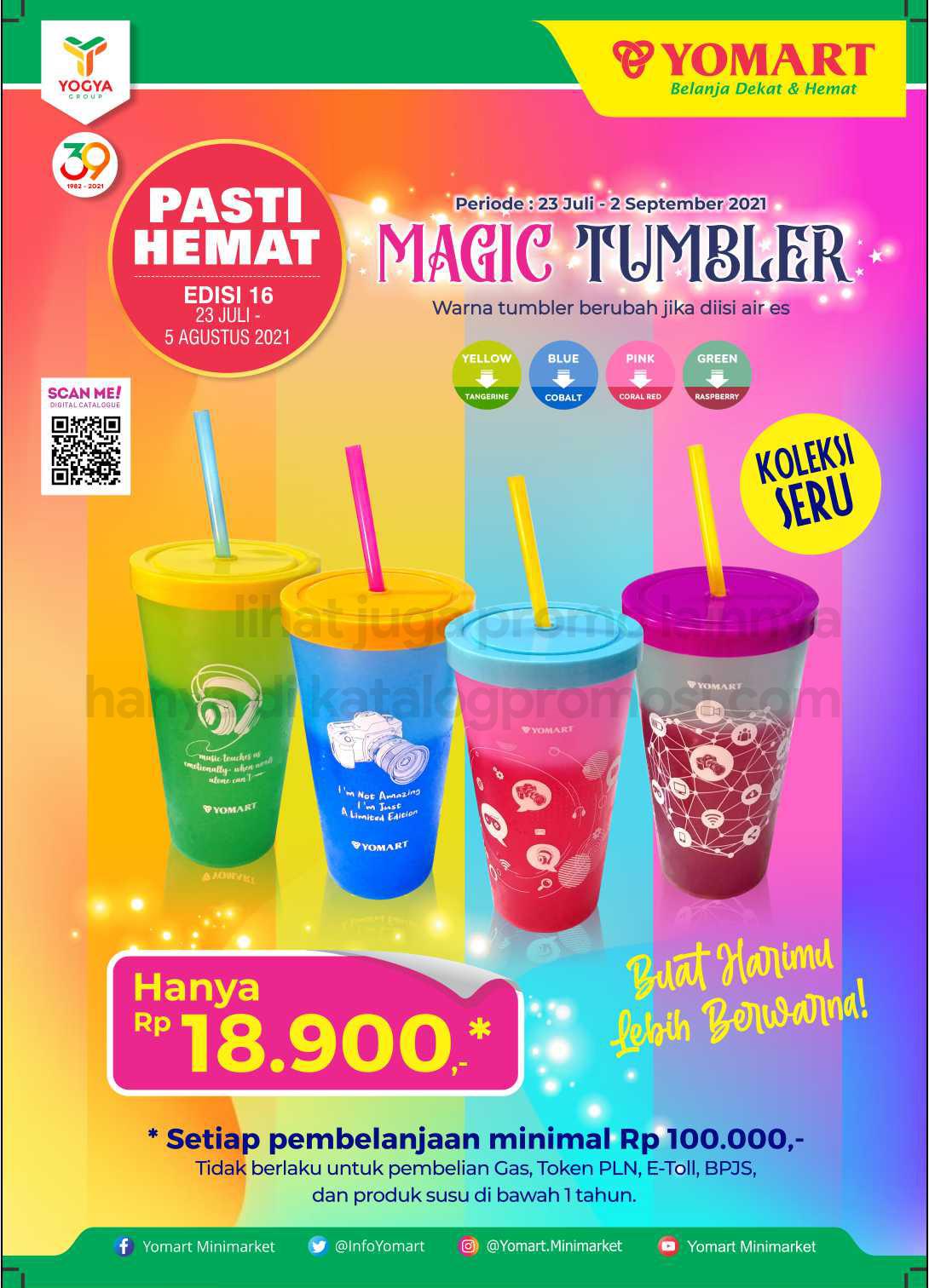 Katalog Yomart Minimarket Promo Mingguan periode 23 Juli - 05 Agustus 2021