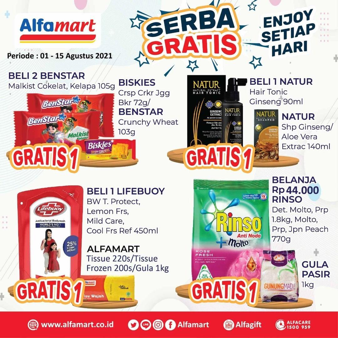 Promo ALFAMART JSM Weekend periode 12-17 Agustus 2021