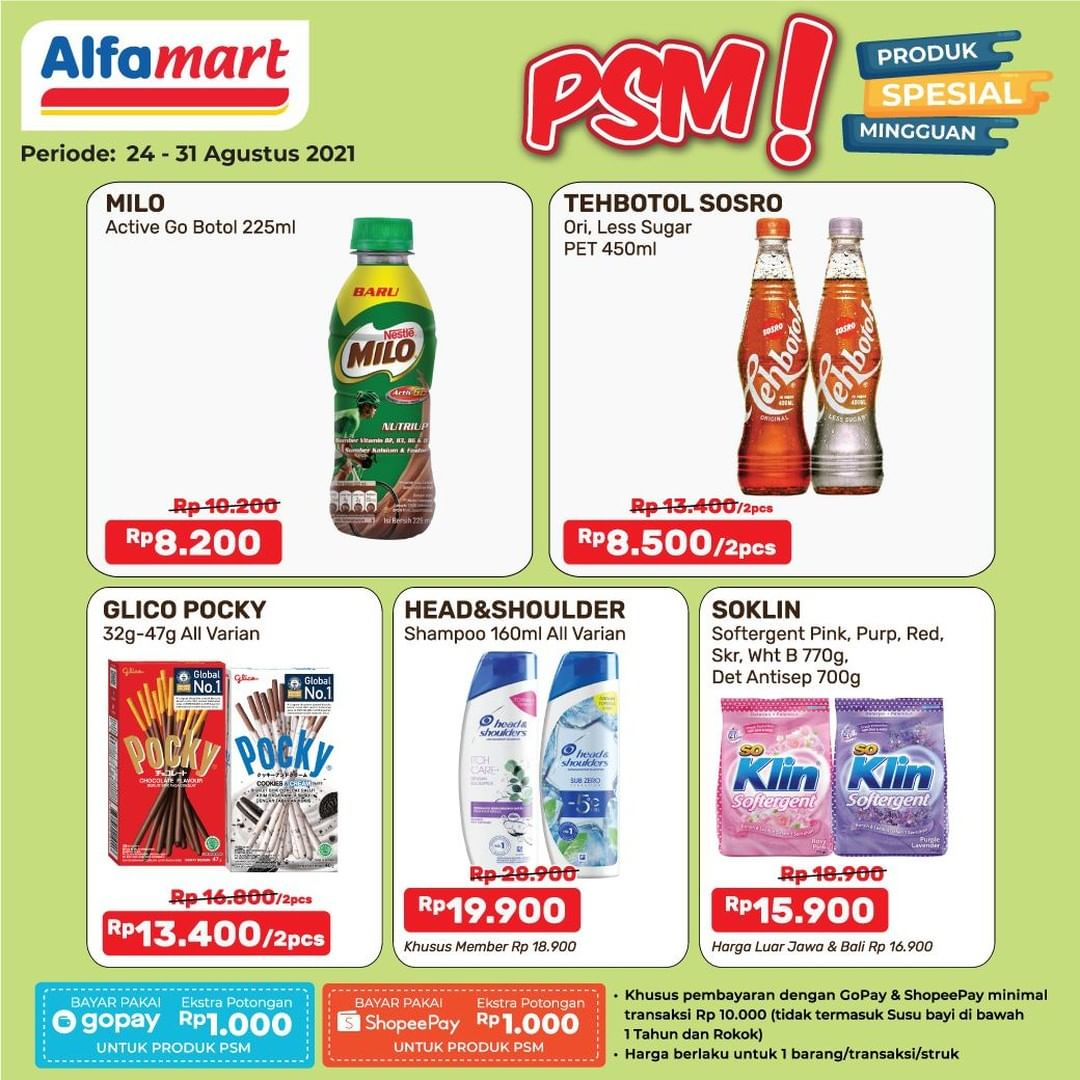 Promo ALFAMART JSM Weekend periode 27-29 Agustus 2021