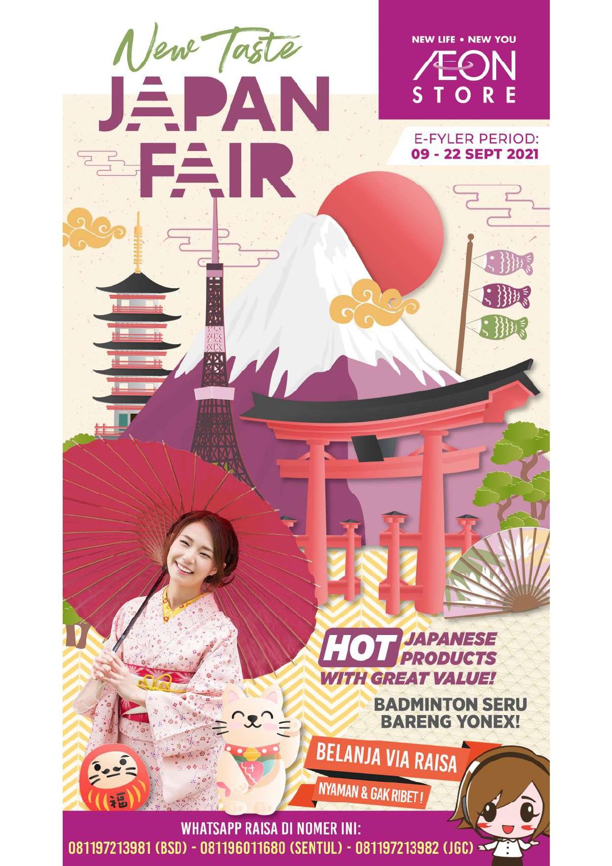 Katalog Promo Aeon Store Indonesia periode 09-22 September 2021