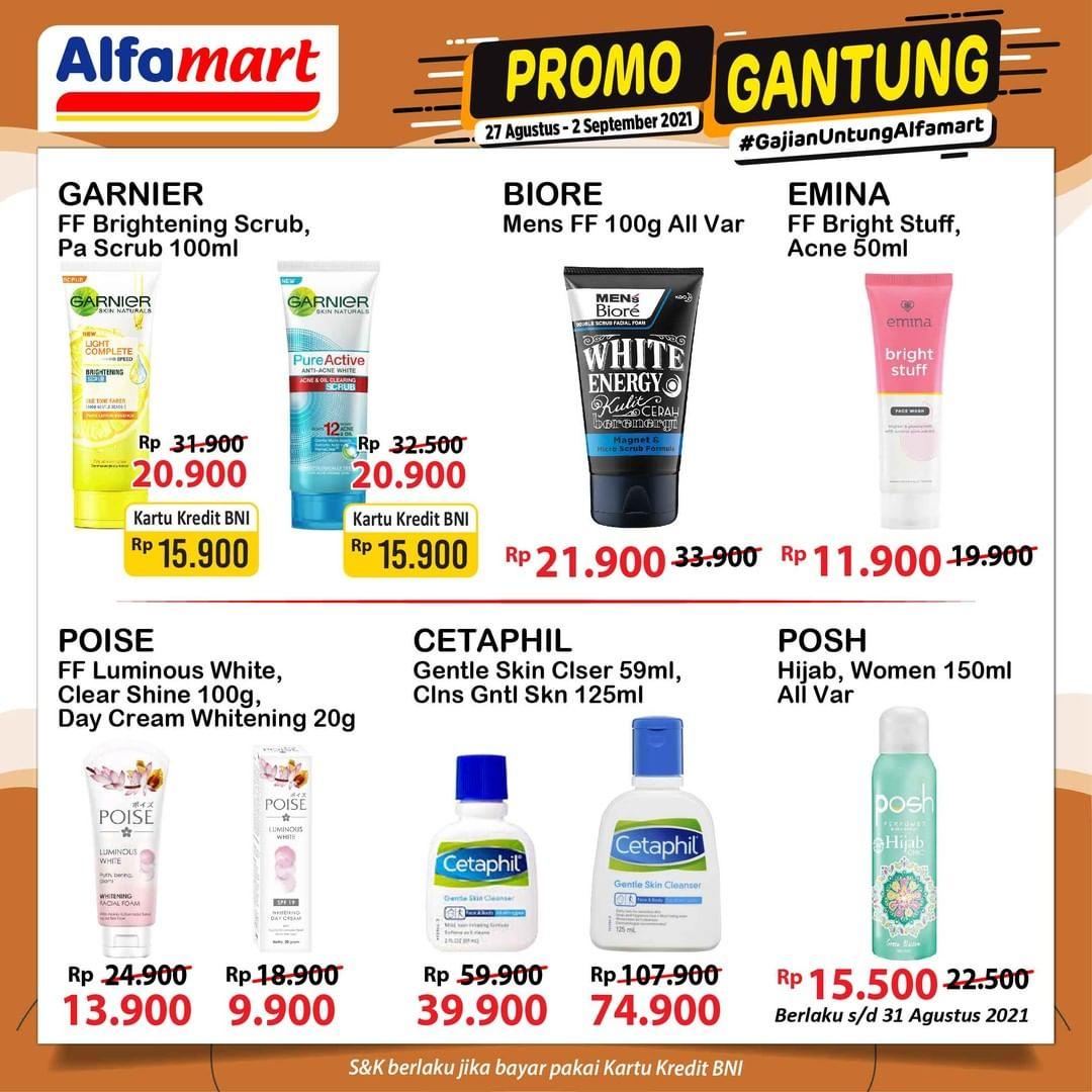 Promo GANTUNG ALFAMART / GAJIAN UNTUNG periode 27 Agustus - 02 September 2021