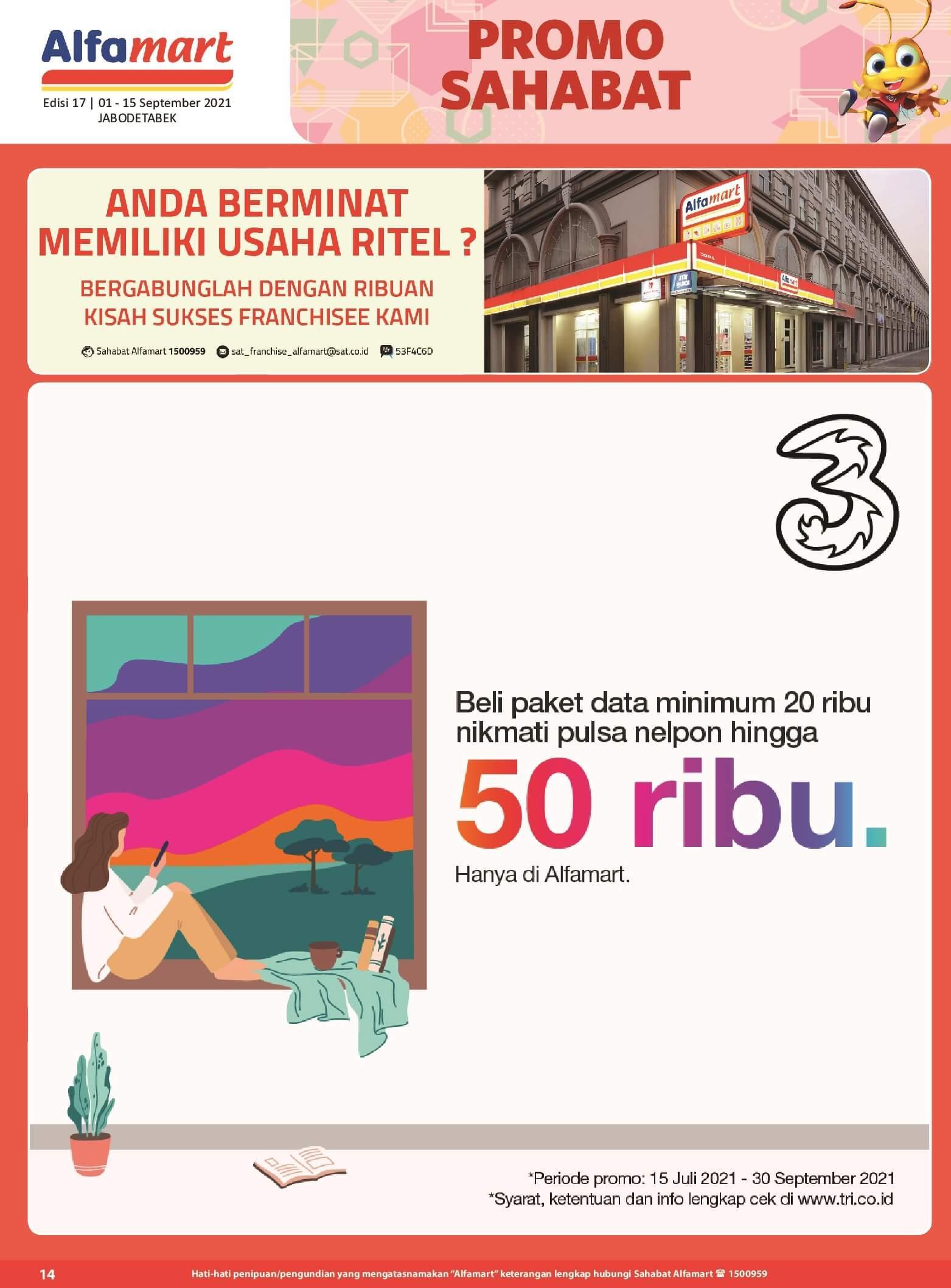 Promo ALFAMART TERBARU periode 01-15 September 2021