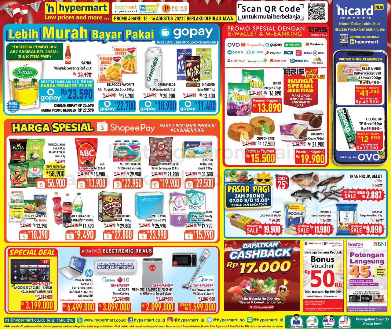 Promo Hypermart JSM Katalog Weekend periode 13-16 Agustus 2021