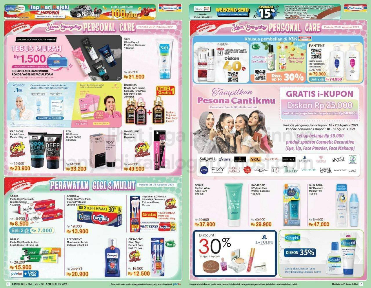 Promo INDOMARET Katalog SUPER HEMAT | 25-31 Agustus 2021
