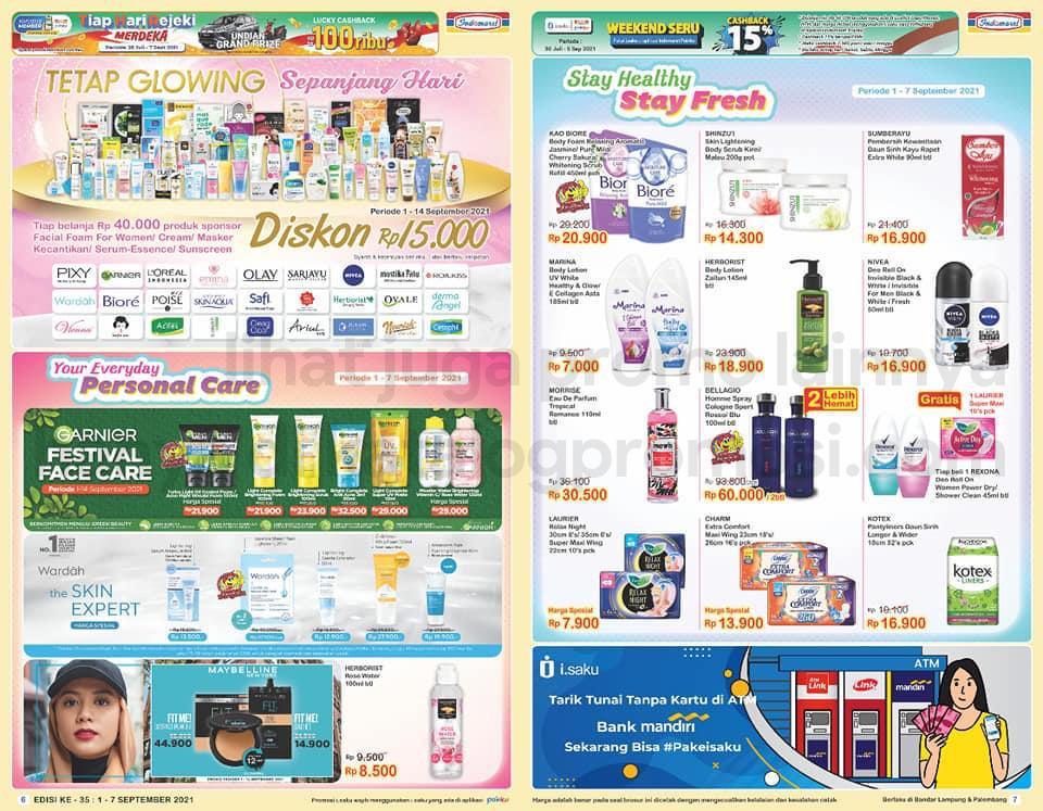 Promo INDOMARET Katalog SUPER HEMAT | 01-07 September 2021