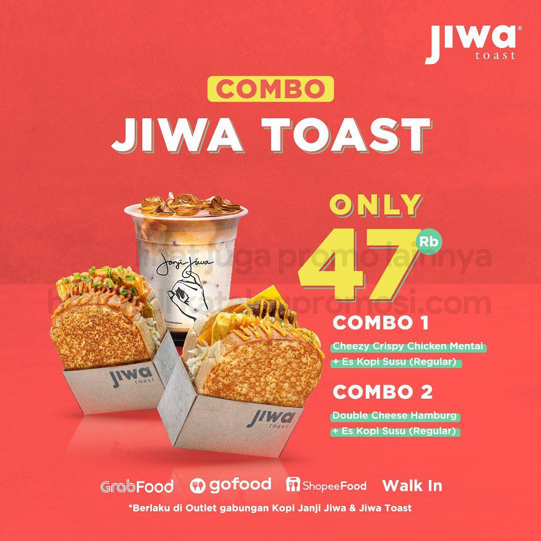 Promo COMBO JIWA TOAST - Harga Spesial mulai Rp. 41.000