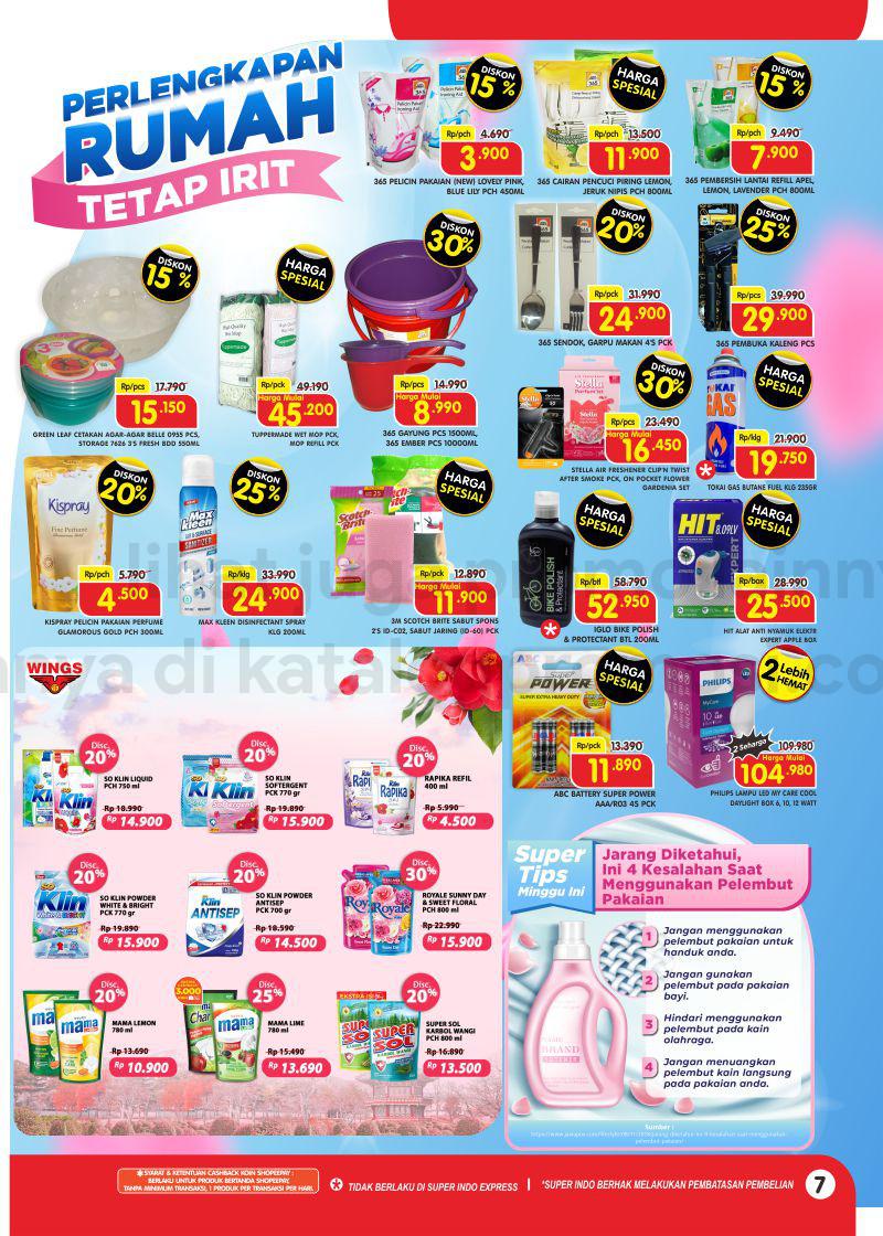 Promo Superindo Katalog Belanja Mingguan periode 02-08 September 2021