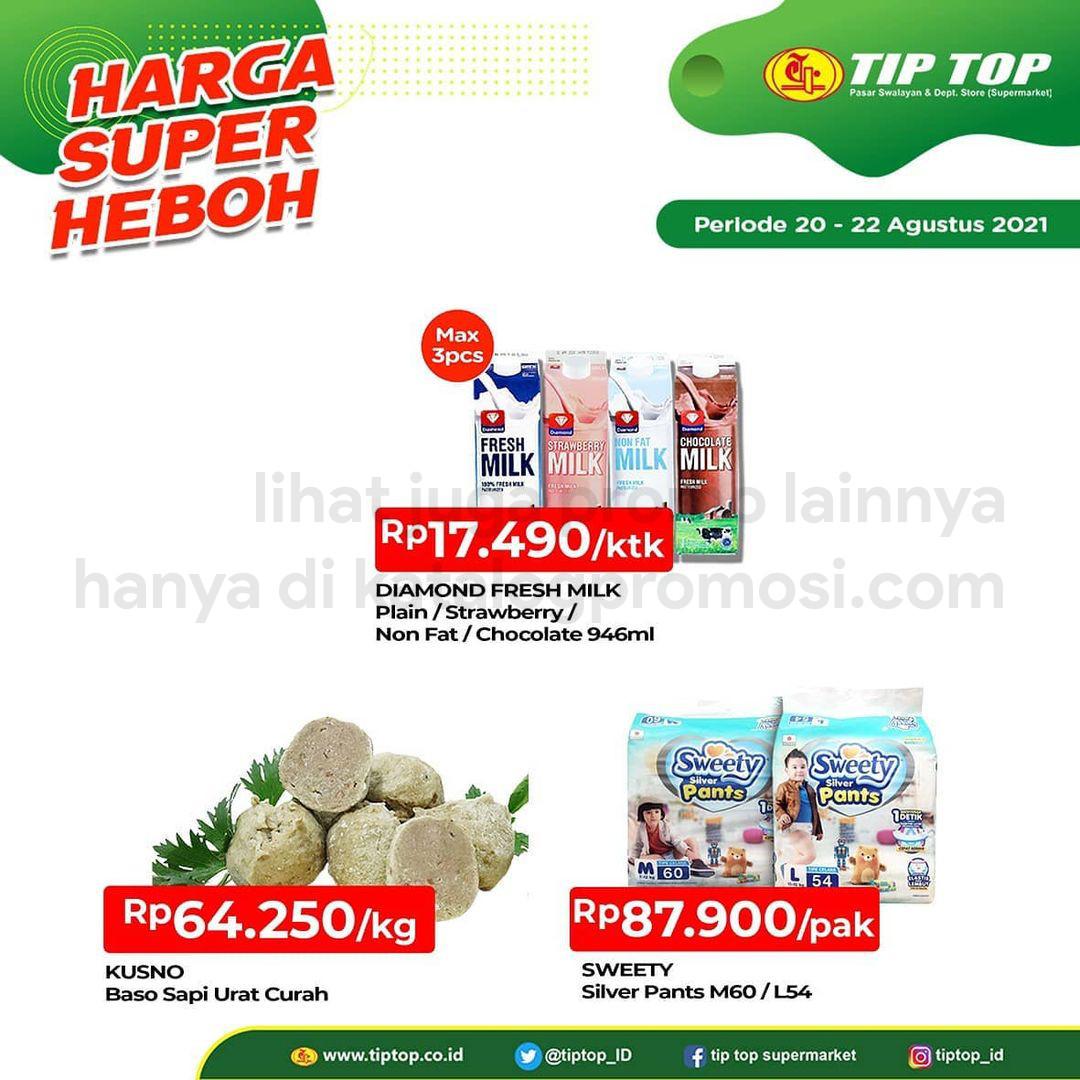 Katalog TIP TOP Pasar Swalayan Promo Weekend Periode 20-22 Agustus 2021