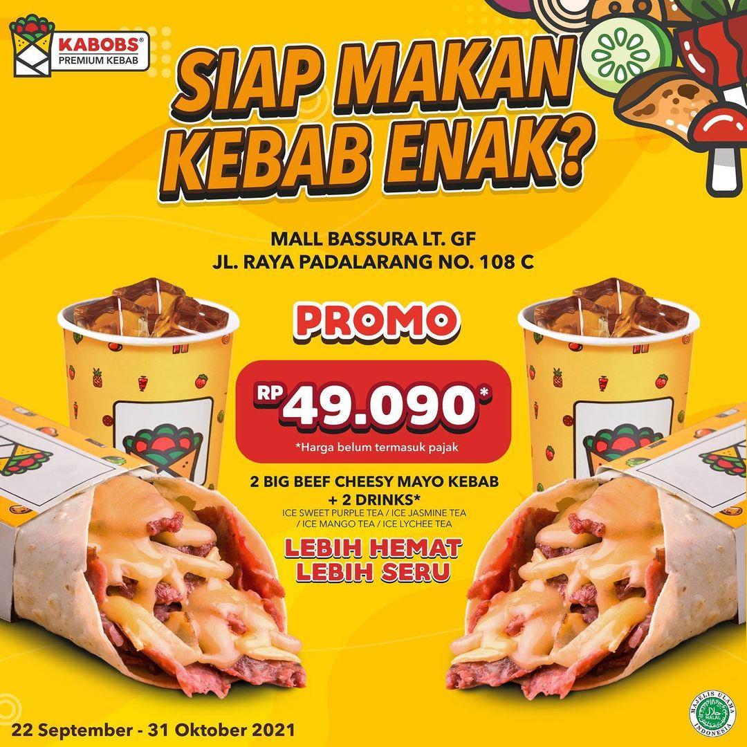 Promo KABOBS Padalarang Bandung dan Mall Bassura Jakarta Opening Promo - Paket Spesial mulai Rp25.454*