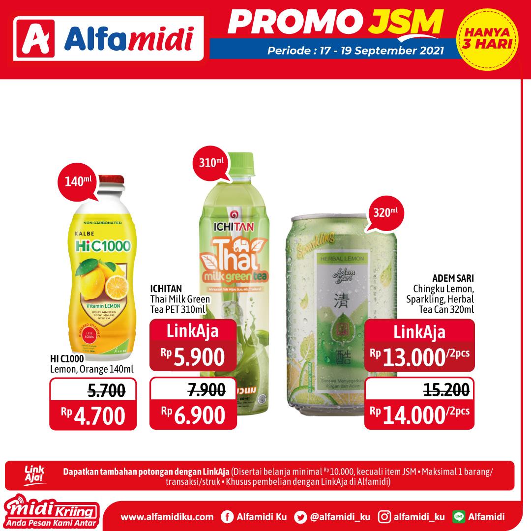 Promo ALFAMIDI JSM Weekend periode 17-19 September 2021