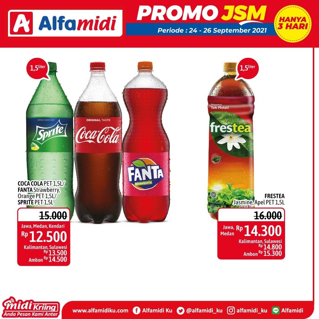 Promo ALFAMIDI JSM Weekend periode 24-26 September 2021
