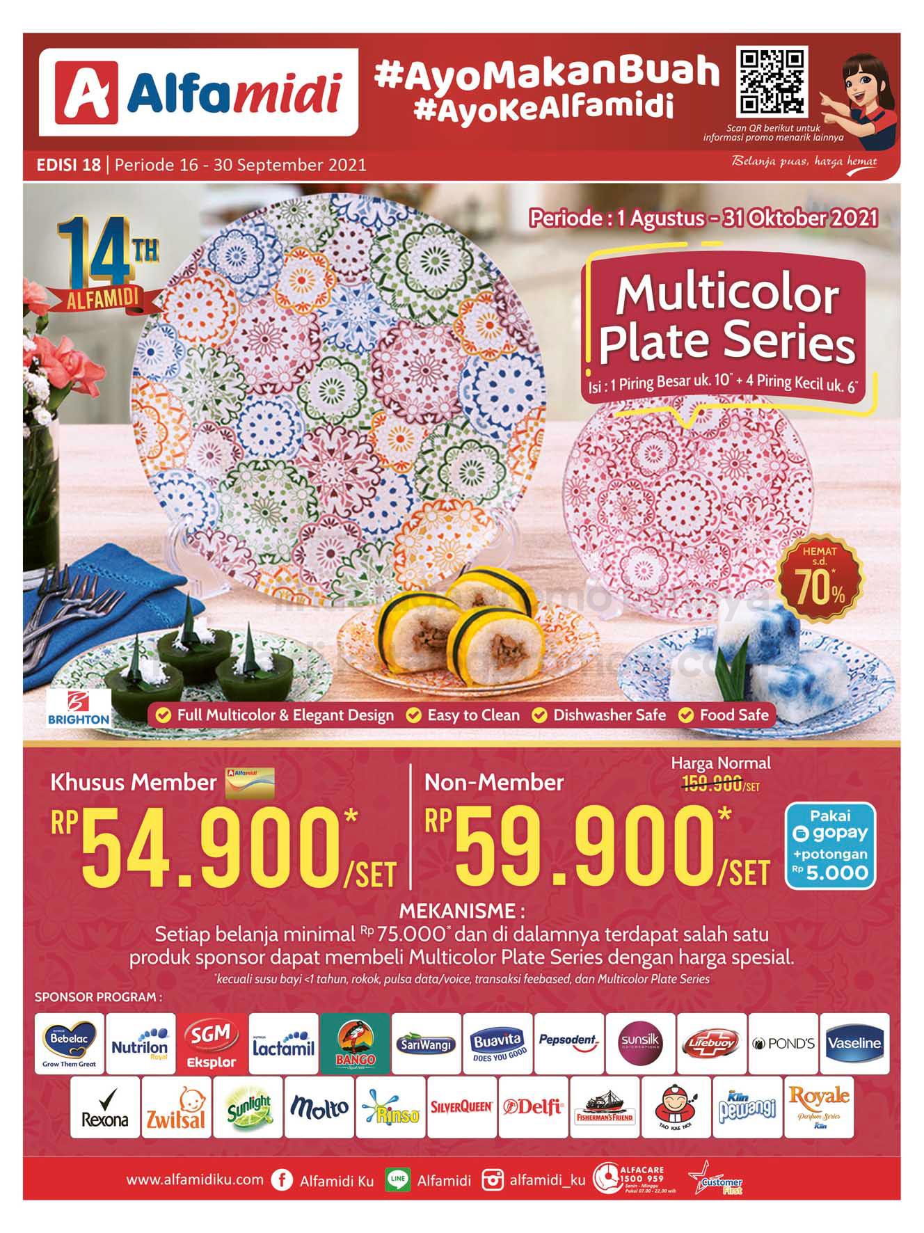 Katalog ALFAMIDI Promo Mingguan Periode 16-30 September 2021