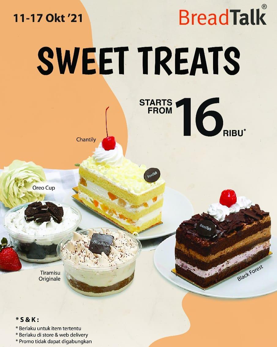 PROMO BREADTALK SWEET TREATS - HARGA SPESIAL SLICE CAKES mulai Rp. 16.000