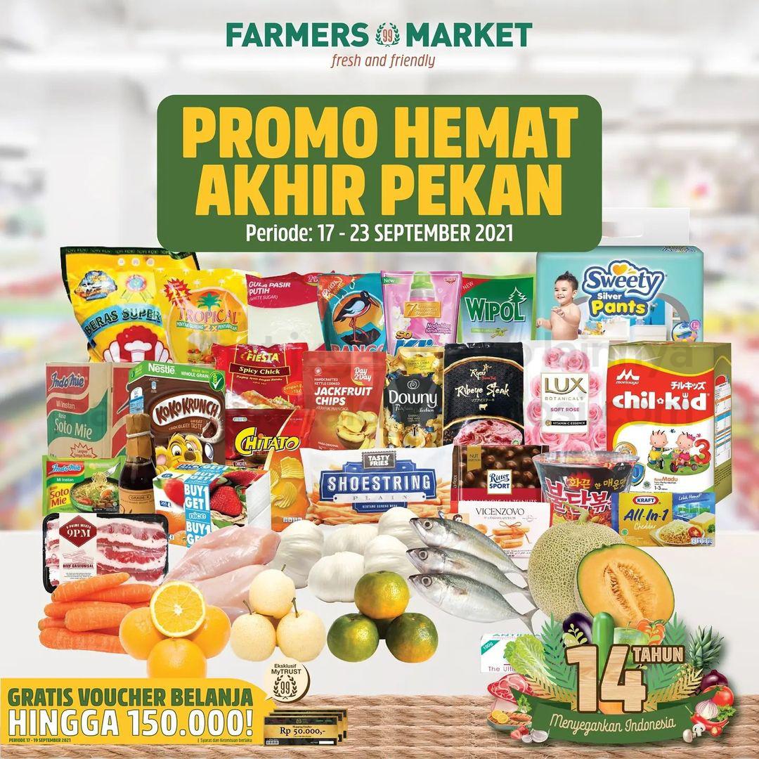 Katalog Promo Farmers Market khusus Weekend | 17-23 September 2021