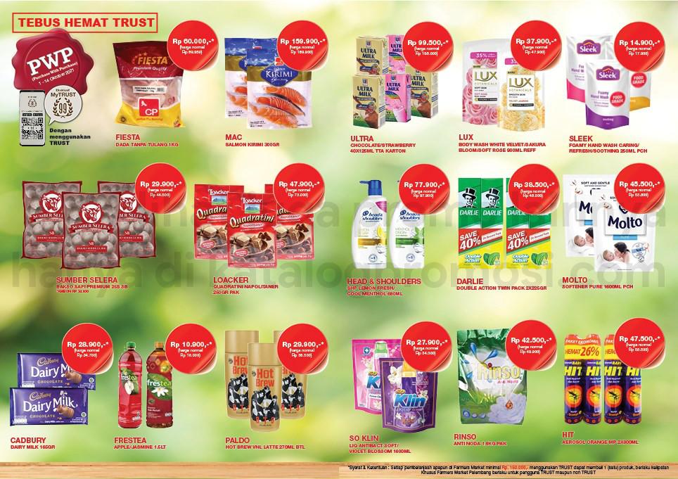 KATALOG FARMERS MARKET Promo MINGGUAN periode 01-14 Oktober 2021