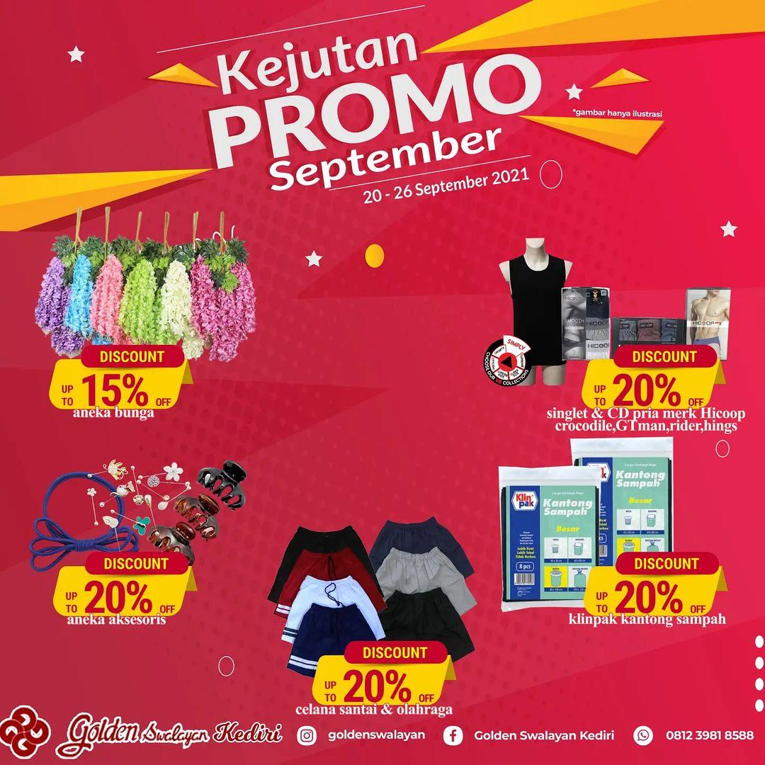 Promo GOLDEN SWALAYAN KEDIRI SUPER SAVE periode 20-26 September 2021