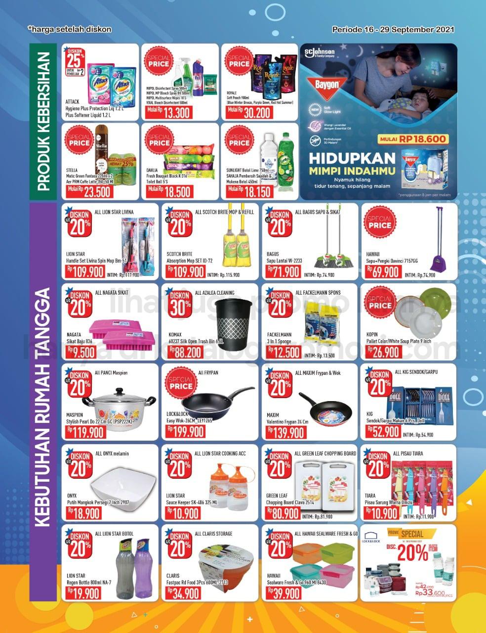 Promo Hypermart Katalog Belanja Mingguan periode 16-29 September 2021