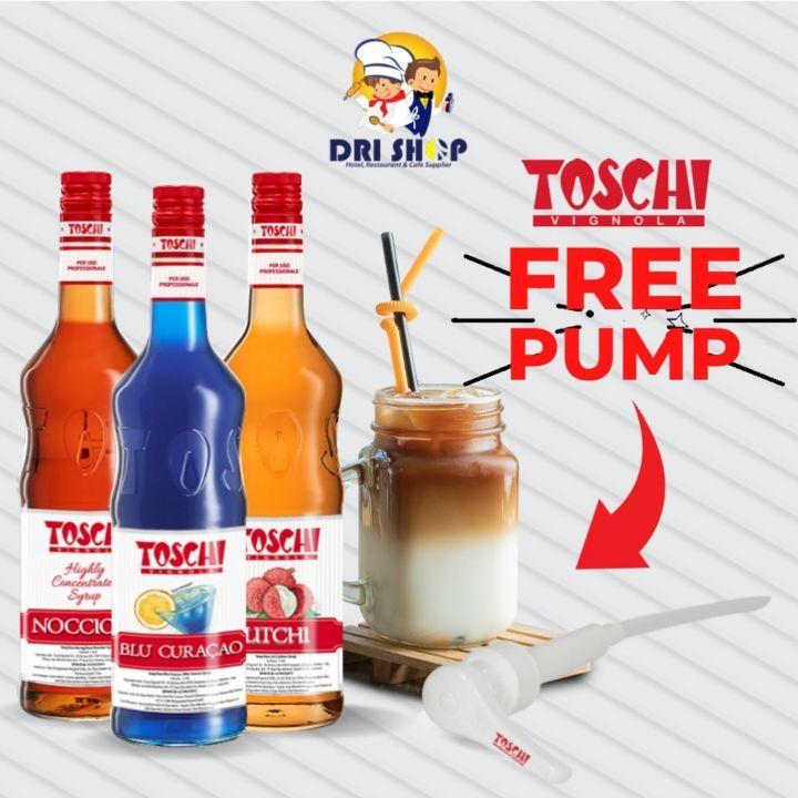 Promo DRISHOP - BELI SIRUP TOSCHI GRATIS PUMP