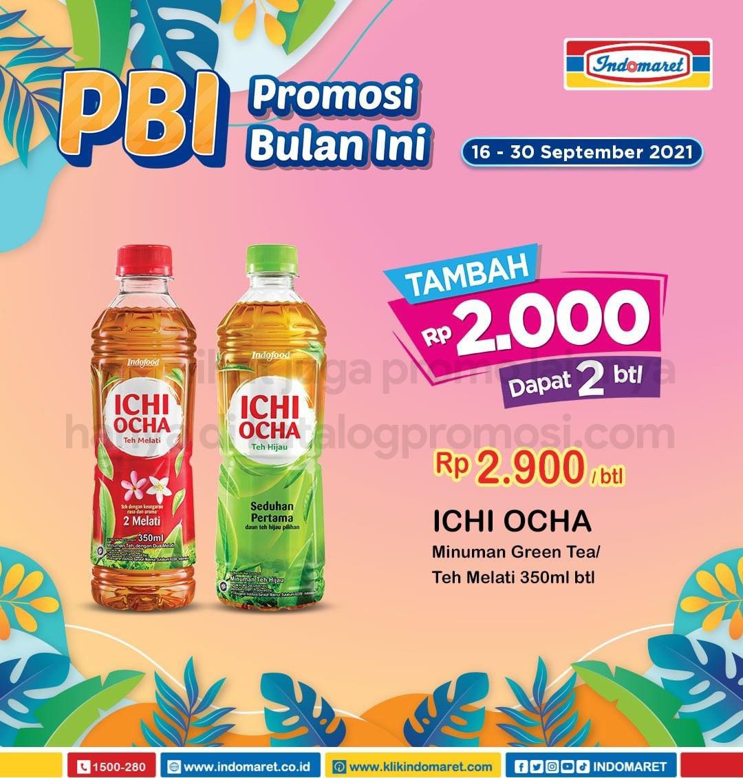 Promo INDOMARET BULAN INI periode 16-30 September 2021
