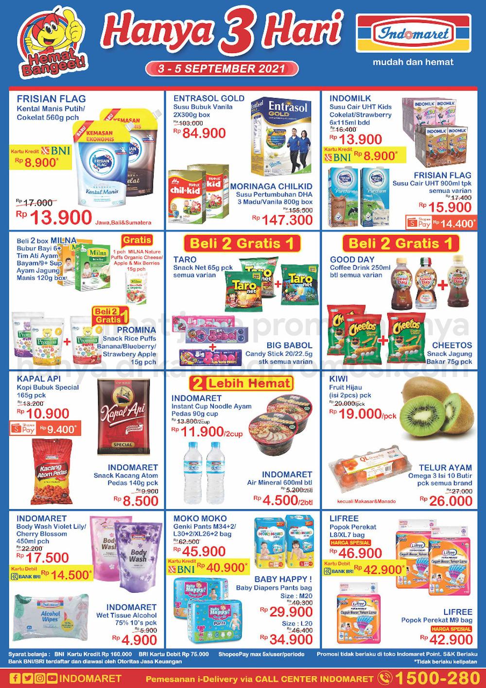 Promo INDOMARET JSM Katalog Weekend periode 03-05 September 2021