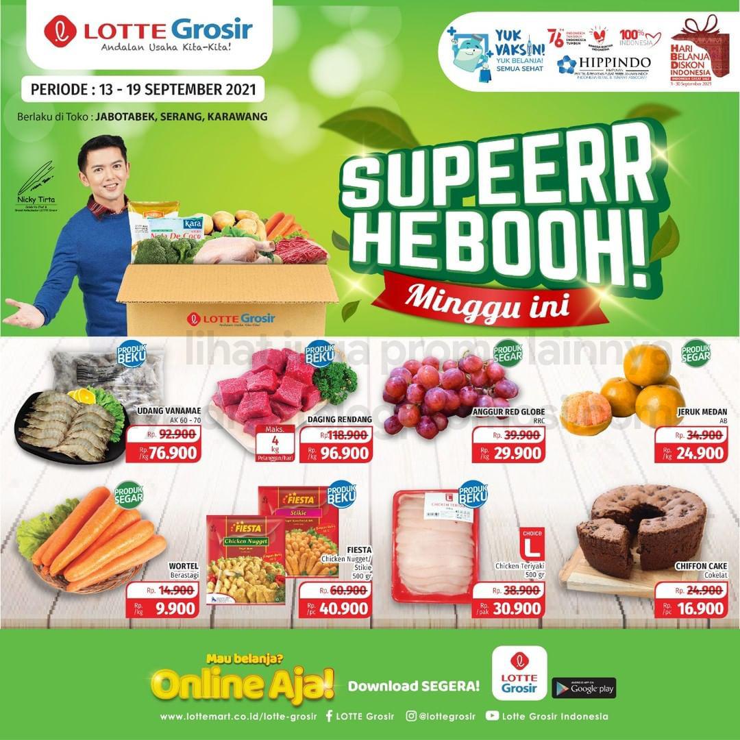 Promo LOTTE GROSIR SUPER HEBOH MINGGU INI periode 13-19 September 2021