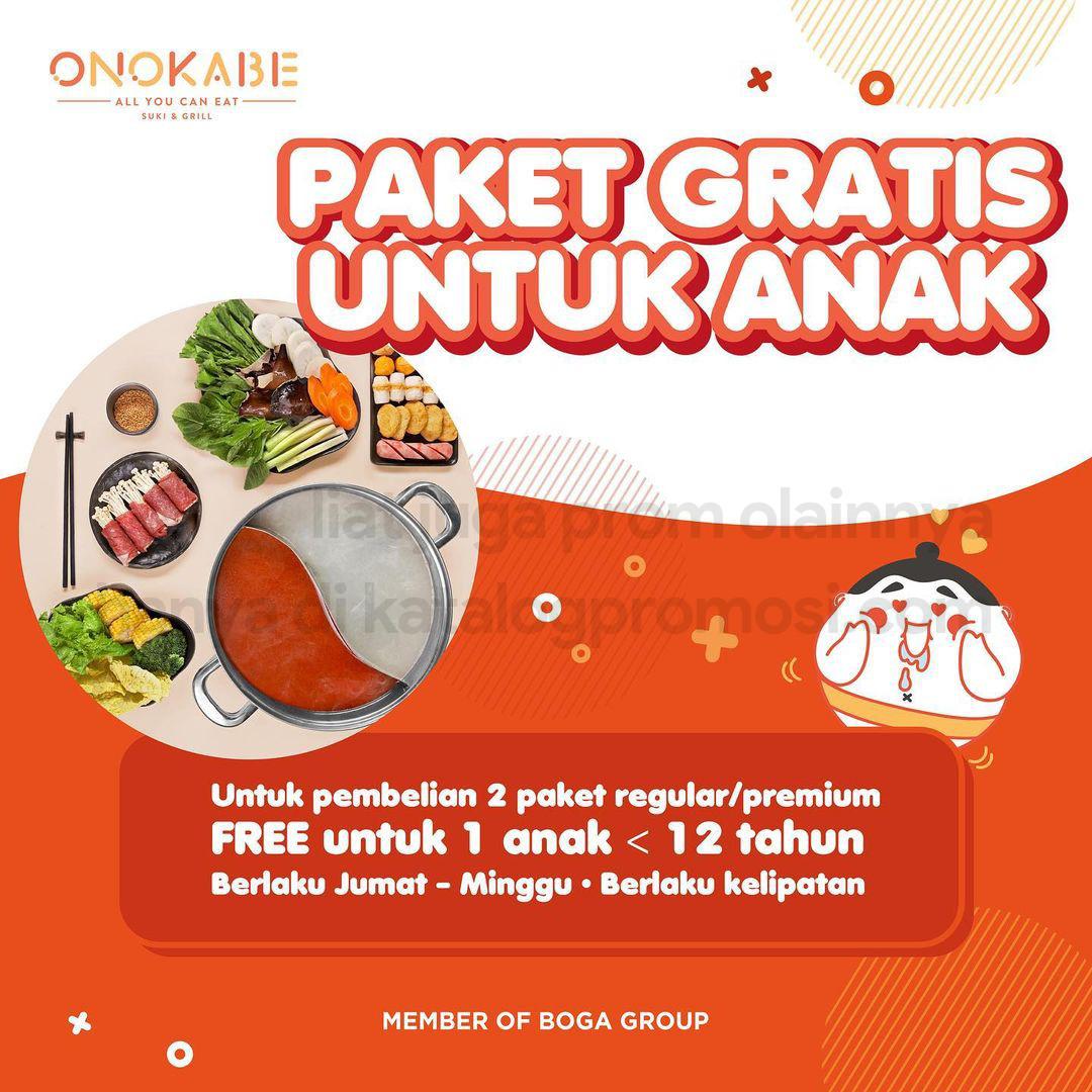 PROMO ONOKABE GRATIS PAKET untuk ANAK