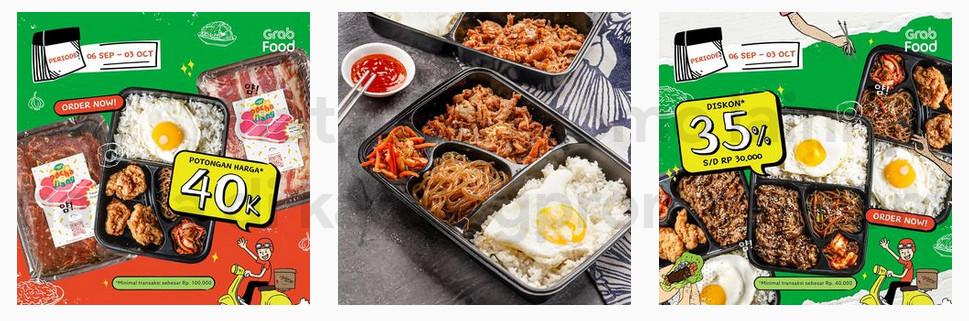 Promo POCHAJJANG DISKON hingga 35% atau Potongan Rp. 40.000 khusus pemesanan via GRABFOOD