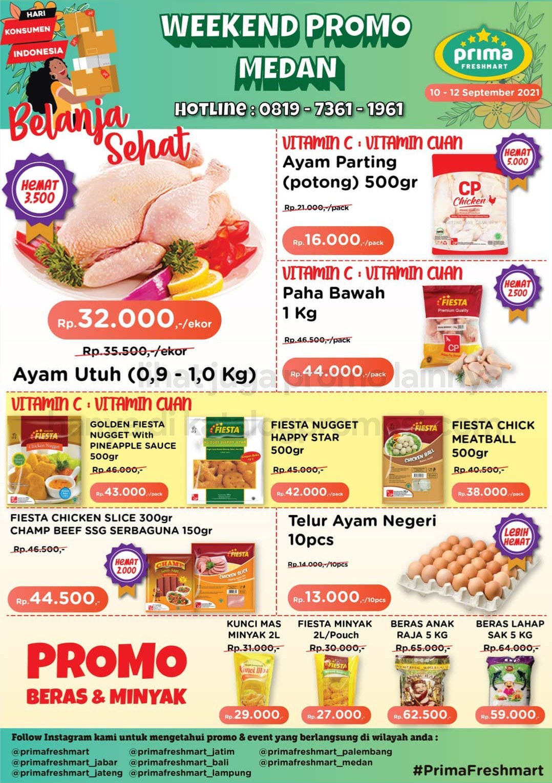 Promo Prima Freshmart Terbaru - Katalog Belanja Weekend JSM periode 10-12 September 2021