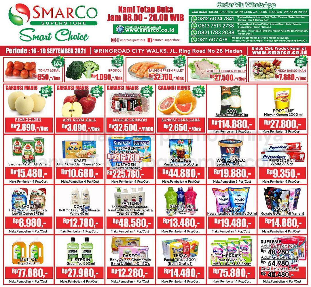 Promo SmarCo Superstore Katalog Weekend JSM periode 16-19 September 2021