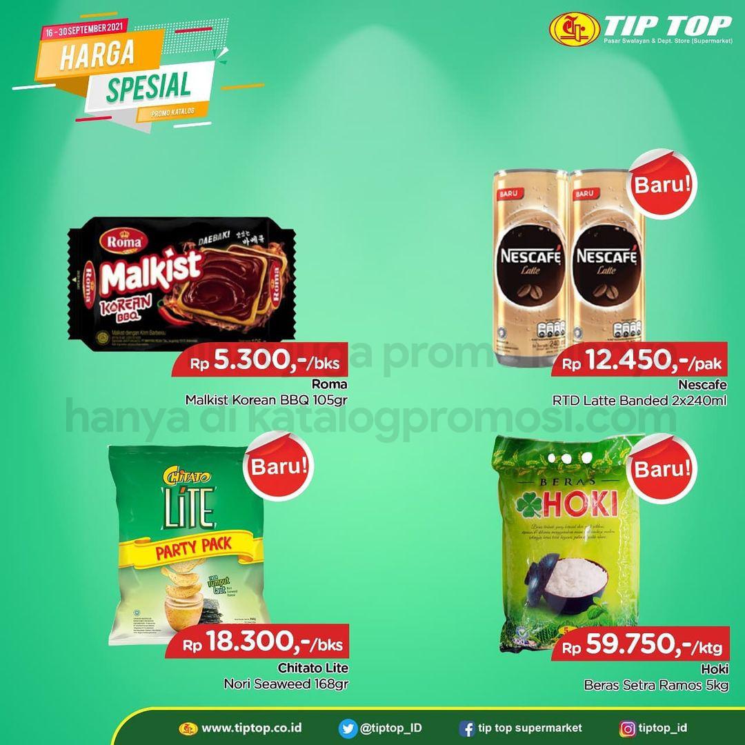 Katalog TIP TOP PASAR SWALAYAN Promo Mingguan Periode 16-30 September 2021