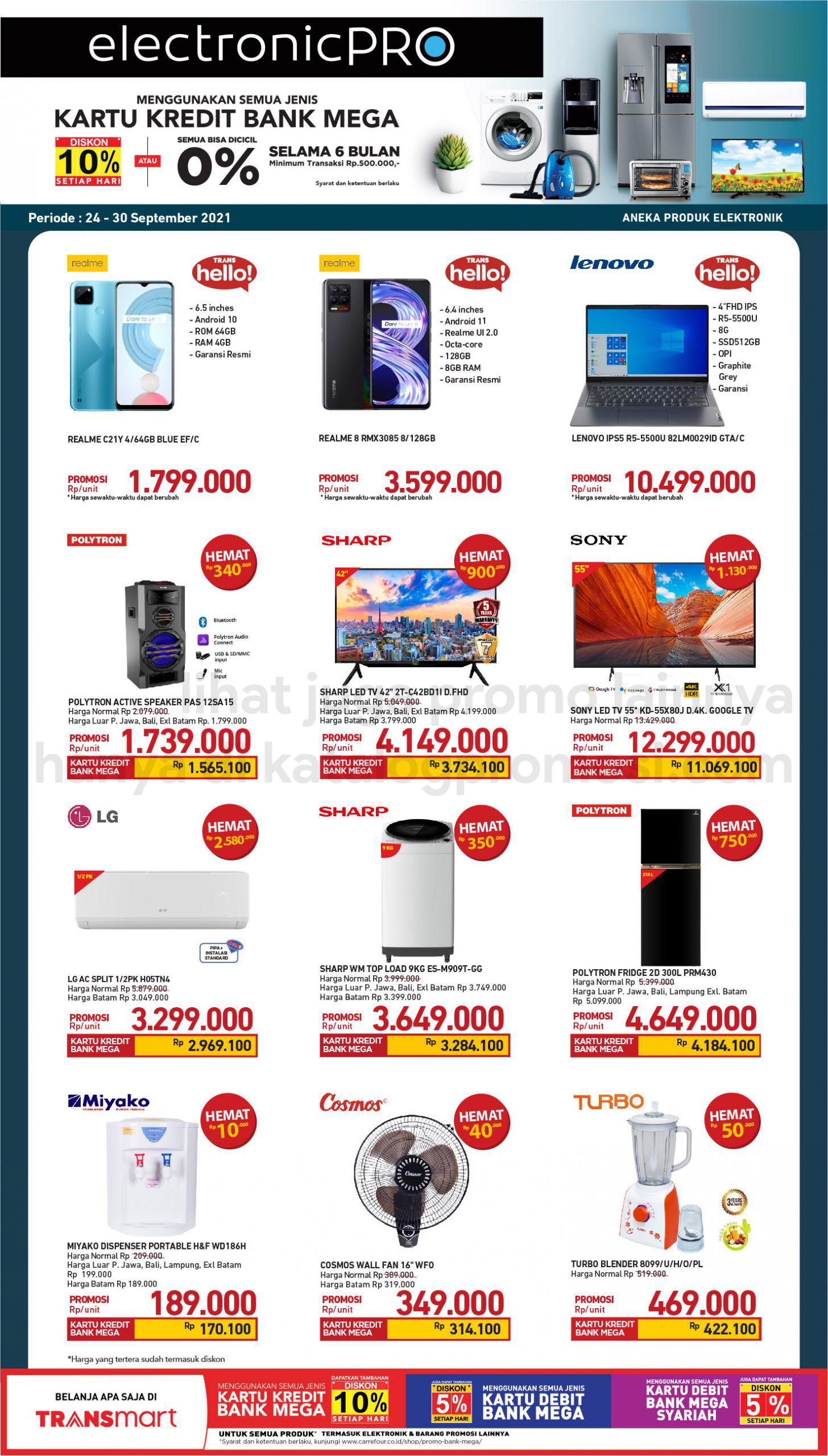 Promo TRANSMART CARREFOUR Katalog Weekend JSM periode 24-28 September 2021