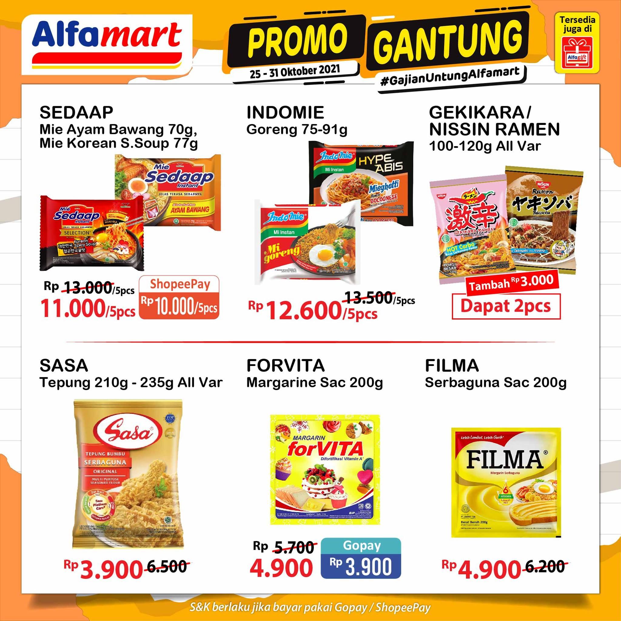 Promo ALFAMART JSM Weekend periode 29-31 Oktober 2021