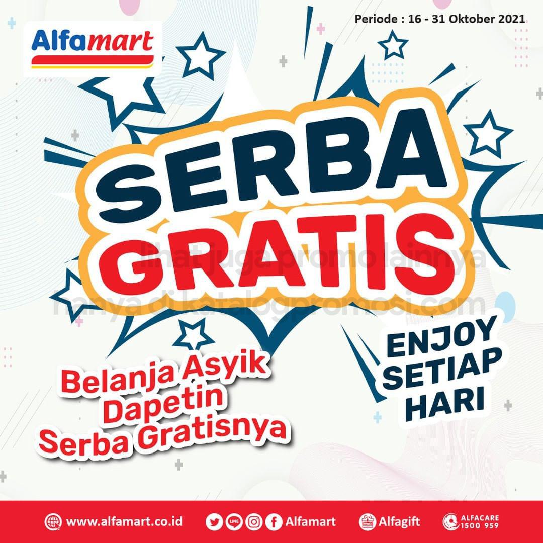 Promo ALFAMART Serba Gratis periode 16-31 Oktober 2021