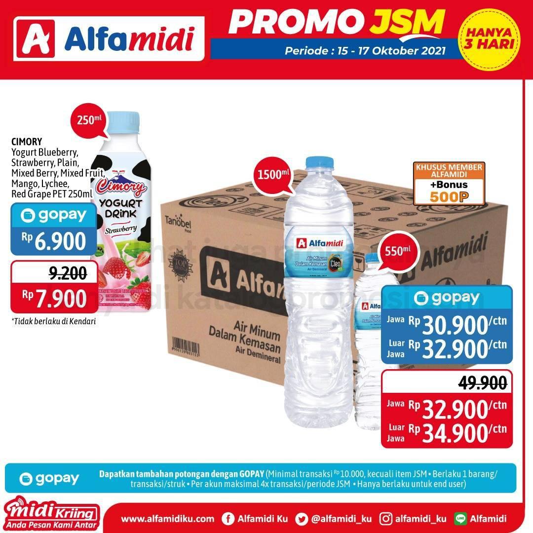 Promo ALFAMIDI JSM Weekend periode 15-17 Oktober 2021