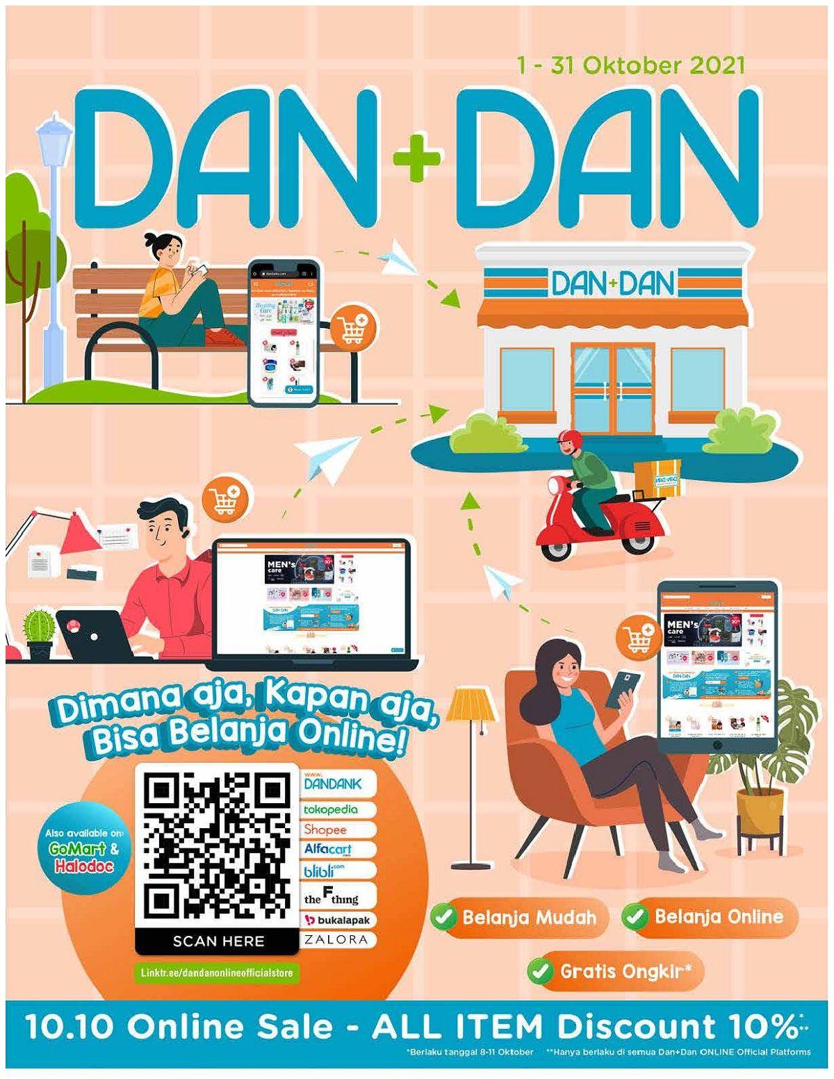 Katalog Promo DAN+DAN TERBARU periode OKTOBER 2021