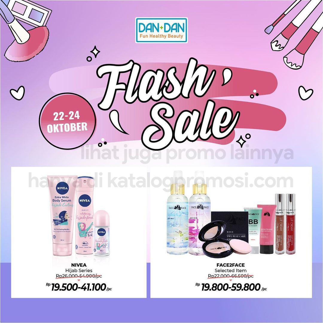 Promo DAN+DAN Weekend Flash Sale periode 22-24 Oktober 2021