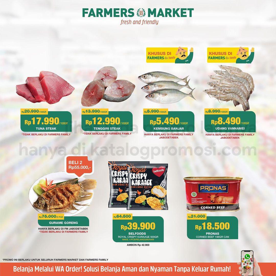 Katalog Promo Farmers Market khusus Weekend | 22-28 Oktober 2021
