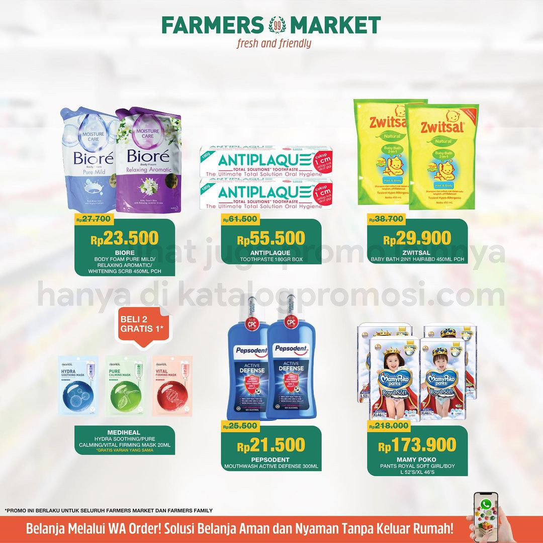 Katalog Promo Farmers Market khusus Weekend | 22-28 Oktober 2021Katalog Promo Farmers Market khusus Weekend | 22-28 Oktober 2021