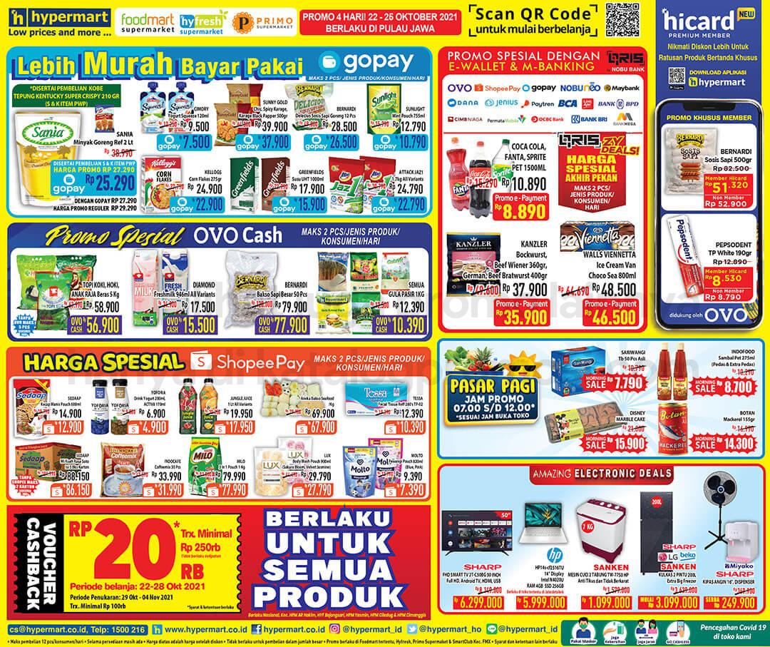 Promo Hypermart JSM Katalog Weekend periode 22-25 Oktober 2021