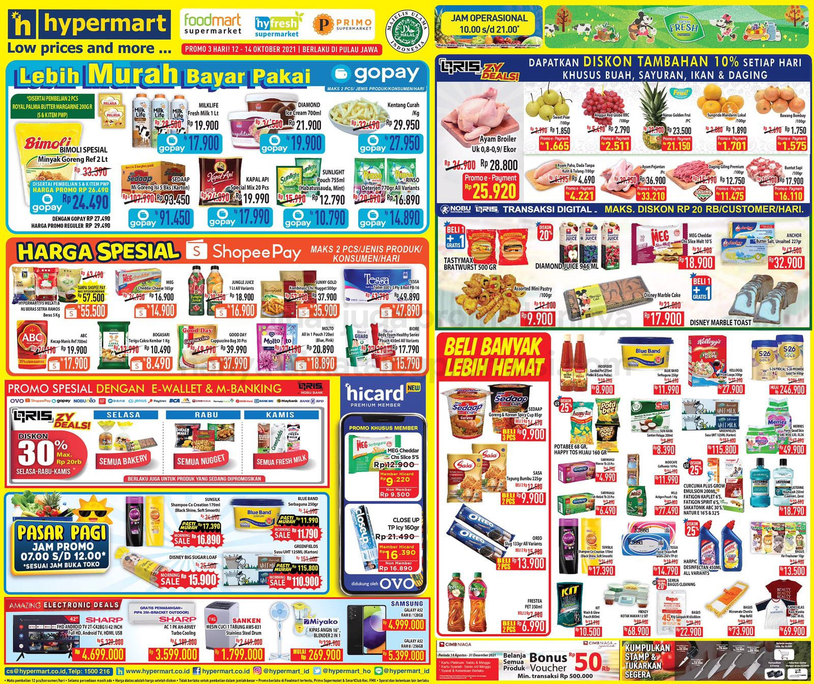 Katalog Hypermart Promo Weekday periode 12-14 Oktober 2021