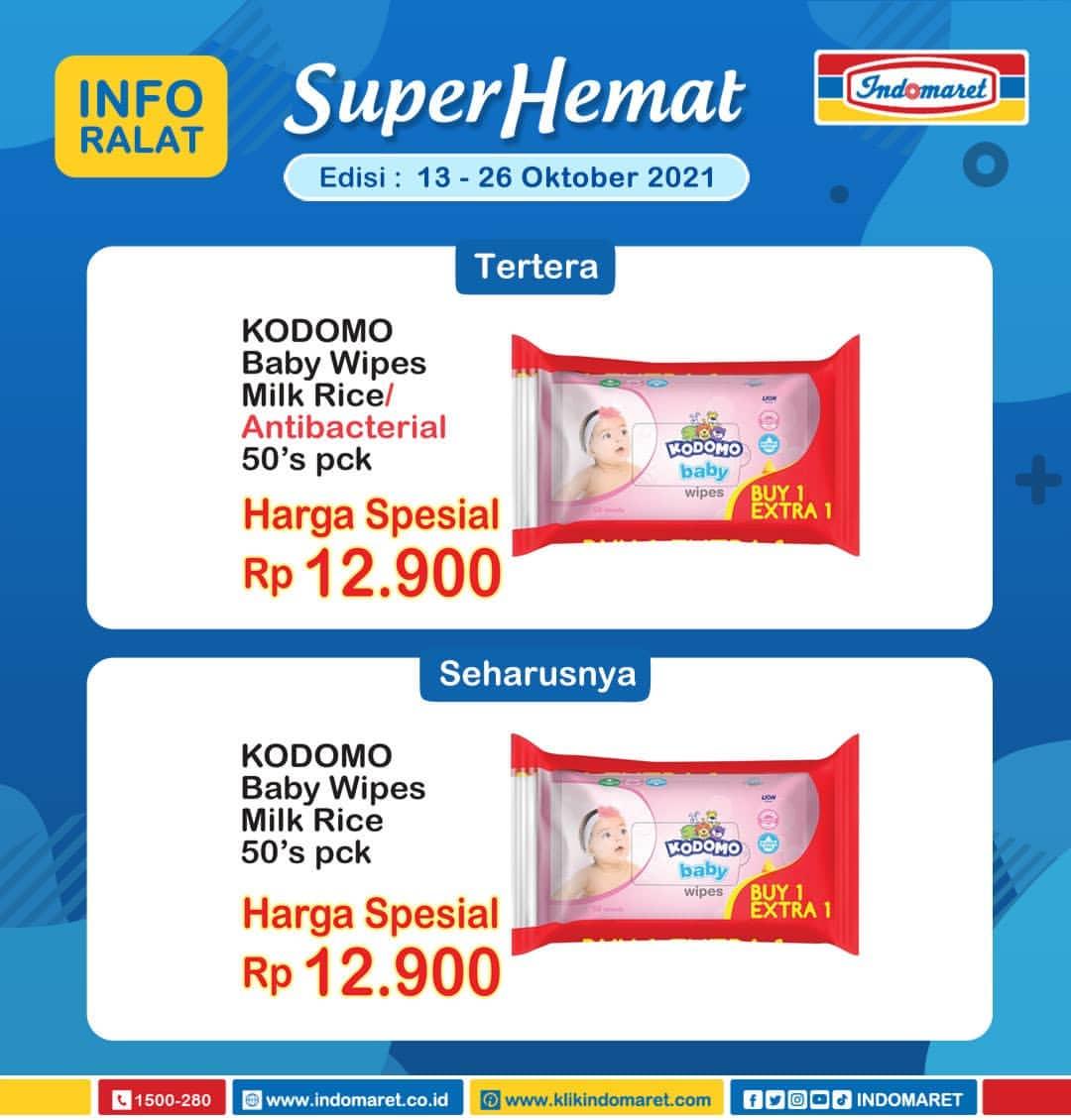Promo INDOMARET Katalog SUPER HEMAT   13-19 Oktober 2021