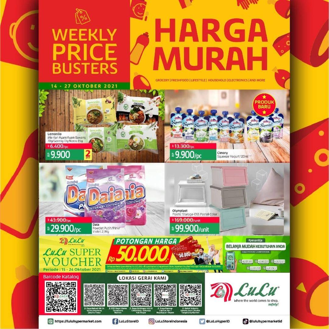 Katalog LuLu Hypermarket & Department Store Harga Murah periode 14-27 Oktober 2021