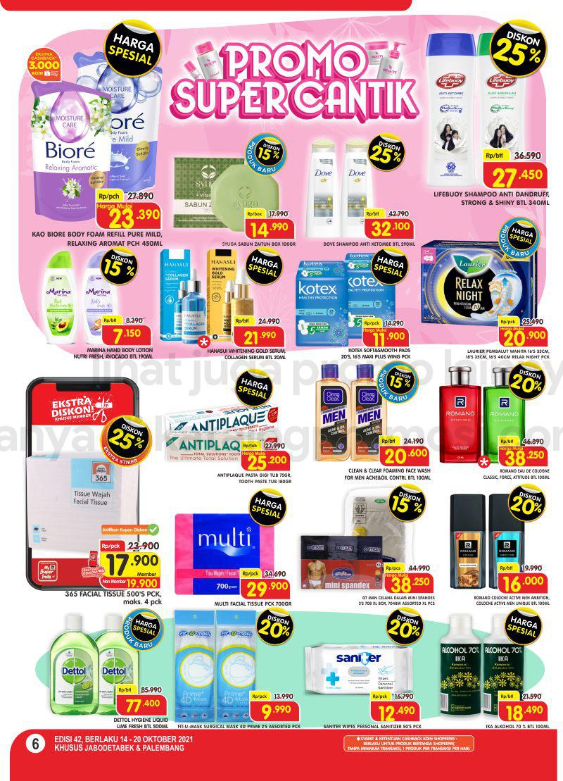 Promo Superindo Katalog Belanja Mingguan periode 14-20 September 2021