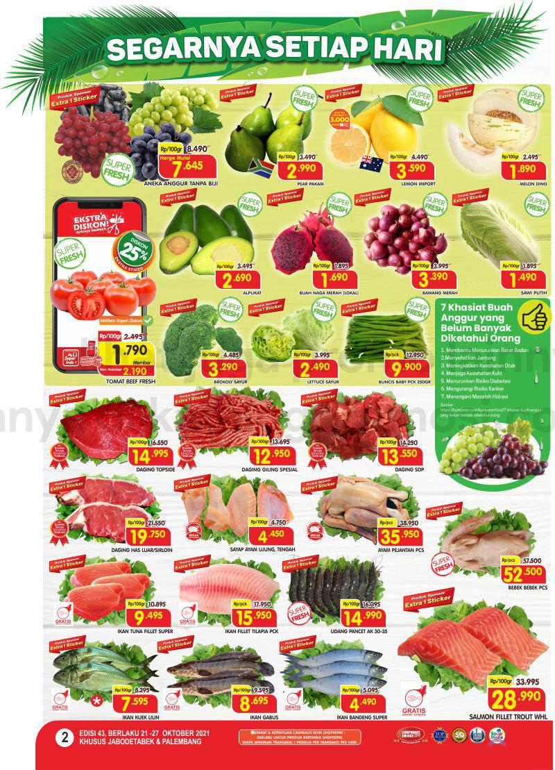 Promo Superindo Katalog Belanja Mingguan periode 21-27 September 2021
